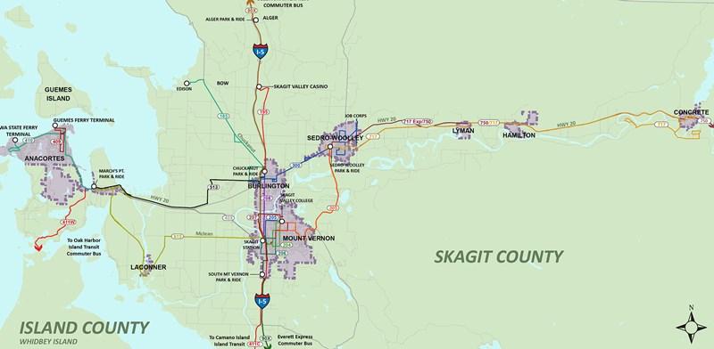 Routes Skagit Transit